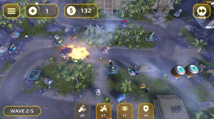 Generals TD HD 1.2.4 دانلود بازی ژنرال های برج دفاعی اندروید + مود