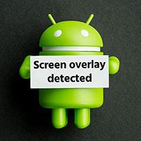 آموزش رفع مشکل Screen overlay detected همپوشانی صفحه اندروید