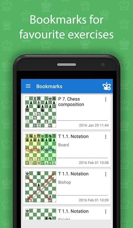 Learn Chess: From Beginner to Club Player FULL 1.0.2 آموزش شطرنج از مبتدی تا حرفه ای اندروید