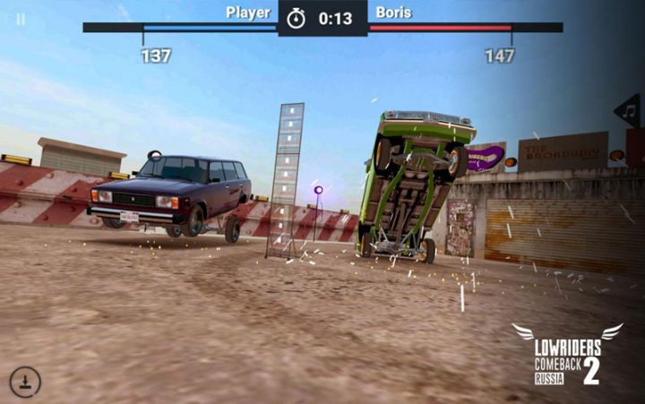 Lowriders Comeback 2 : Russia 1.2.0 دانلود بازی ماشین سواری اندروید + مود + دیتا