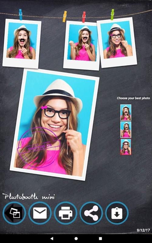 Photobooth mini FULL 60 دانلود برنامه عکاسی و فیلم برداری خنده دار