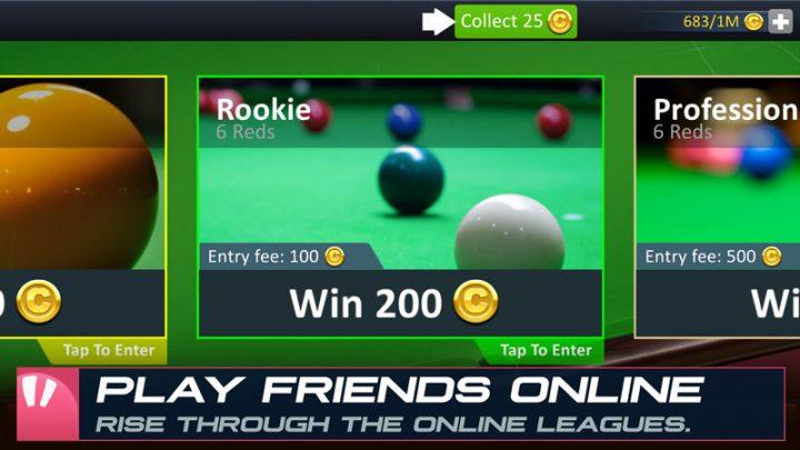 Snooker Stars 4.81 دانلود بازی ستاره های اسنوکر اندروید + مود