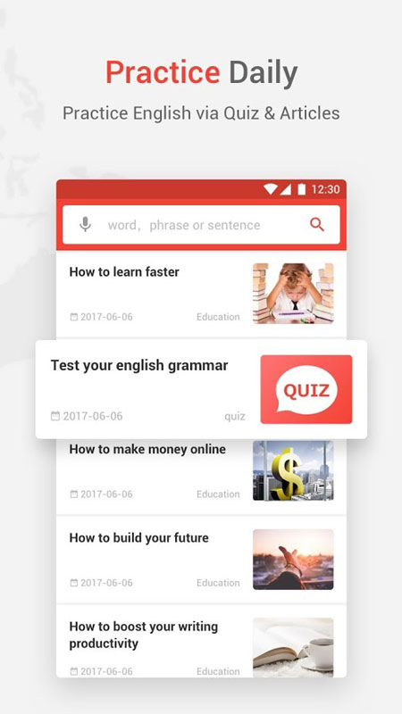 U-Dictionary: Translate & Learn English Full 4.0.8 دانلود دیکشنری اندروید
