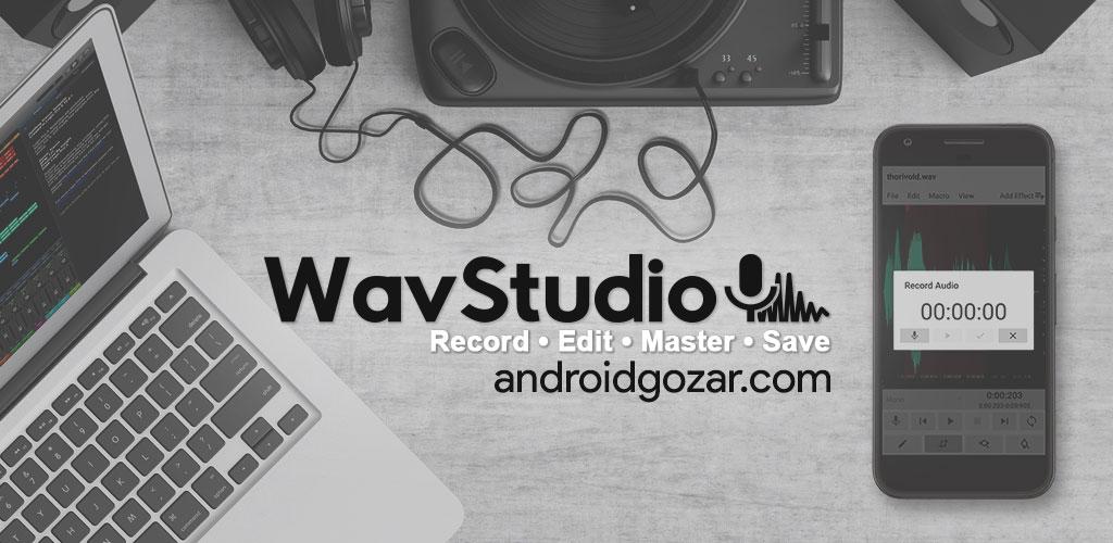 WaveEditor for Android Pro 1.78 ضبط، ویرایش و مسترینگ صدا اندروید