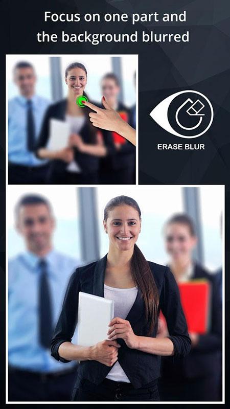 DSLR Camera Blur Effects Premium 1.4 دانلود نرم افزار تار کردن پس زمینه عکس اندروید