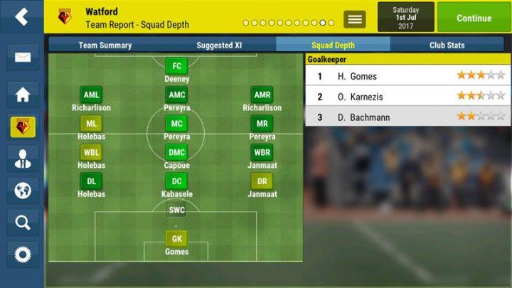 Football Manager Mobile 2018 9.0.3 دانلود بازی مدیریت فوتبال اندروید + دیتا