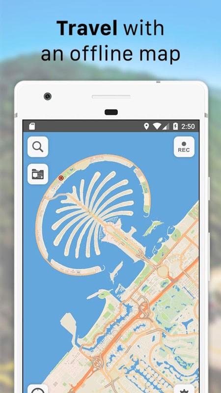 Galileo Offline Maps Pro 2.1.9 دانلود نرم افزار نقشه های آفلاین اندروید