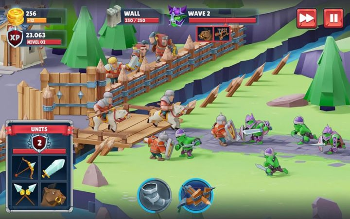 دانلود Game of Warriors 1.4.6 بازی استراتژی نبرد جنگجویان اندروید + مود