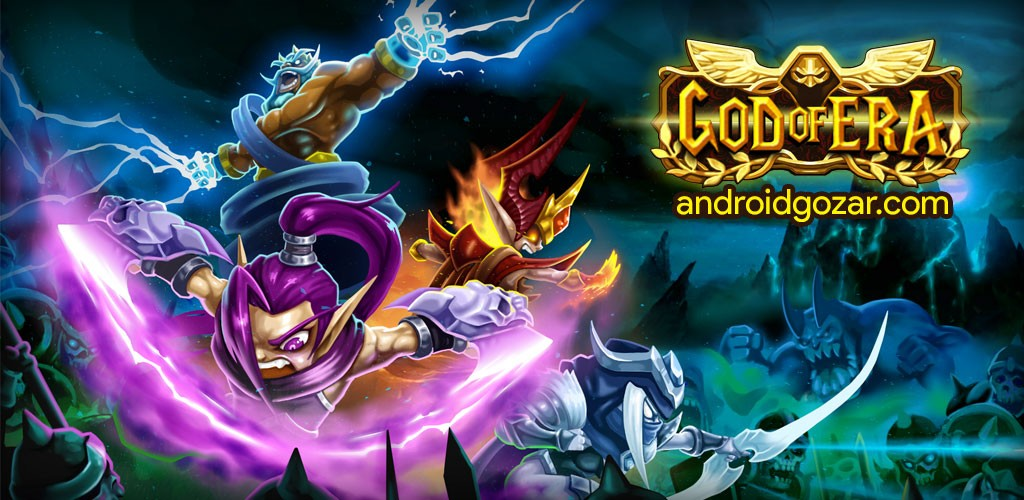 Legend Warriors 1.0.50 دانلود بازی قهرمانان افسانه ای اندروید + مود