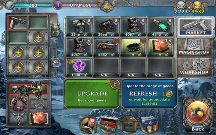 Gunspell 1.6.37 دانلود بازی ماجراجویی طلسم تفنگ اندروید + مود