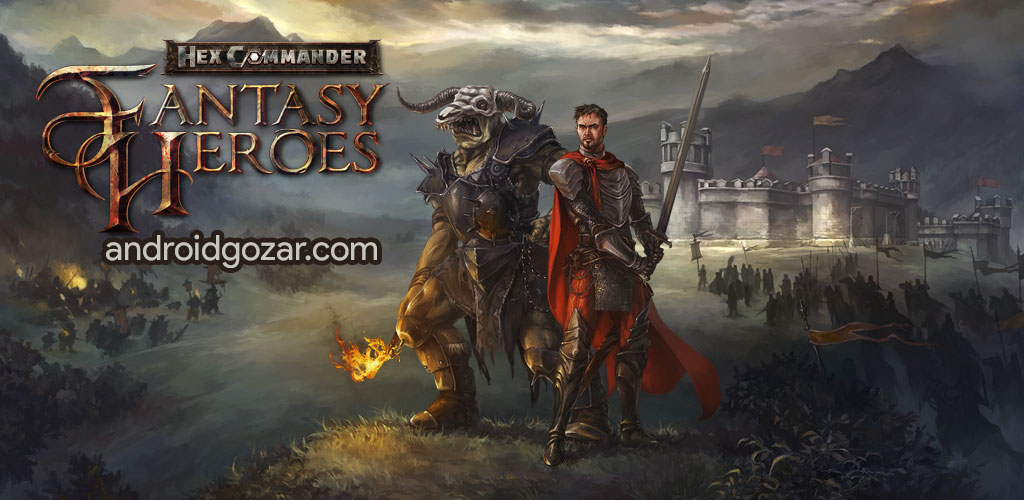 Hex Commander: Fantasy Heroes 4.4.1 دانلود بازی فرمانده جادو اندروید + مود