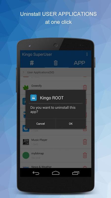 Kingo SuperUser [ROOT] 1.2.0 دانلود نرم افزار کینگو سوپر یوزر اندروید