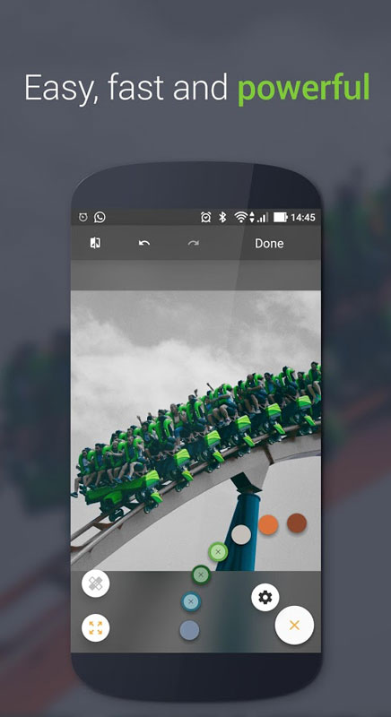 Paletta – Smart color splash Pro 2.1.3 برنامه تغییر رنگ عکس اندروید