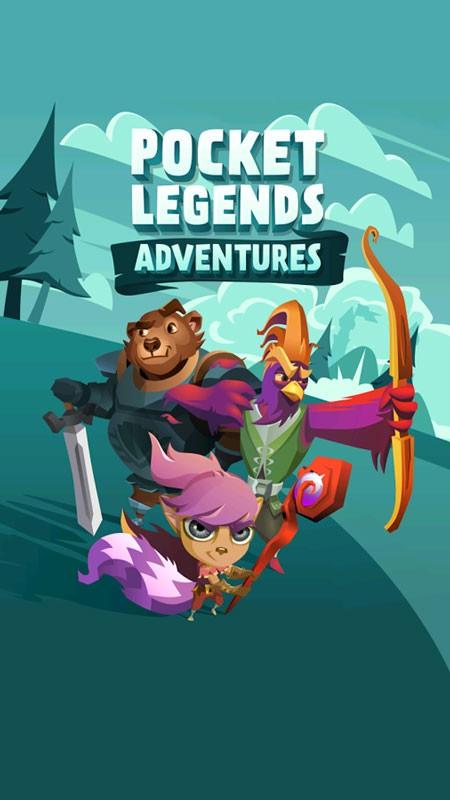 دانلود Pocket Legends Adventures 1.1.4 بازی افسانه های کوچک اندروید