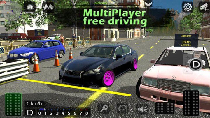 Real Car Parking 3D 5.6.4 دانلود بازی پارک ماشین اندروید + مود