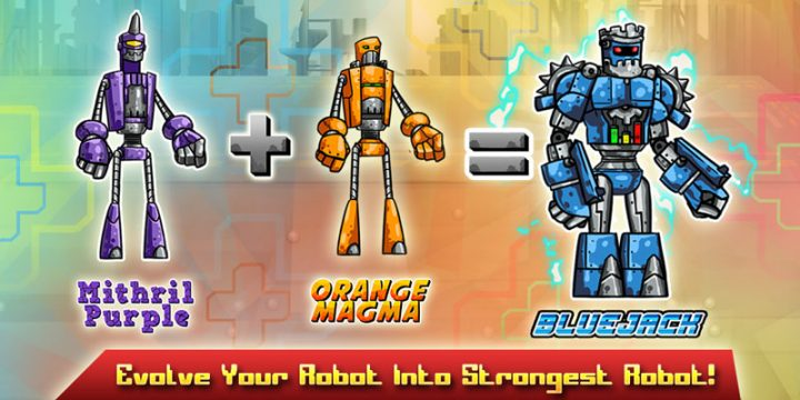 دانلود Robot Evolved : Clash Mobile 1.0.1 بازی جنگ ربات ها اندروید + مود