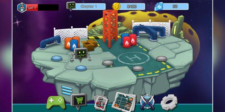 Robot Evolved : Clash Mobile 1.0.1 دانلود بازی جنگ ربات ها اندروید + مود
