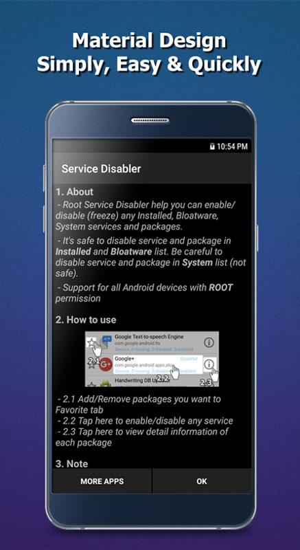 Service Disabler Pro 1.0.9 غیرفعال سازی پکیج و سرویس اندروید