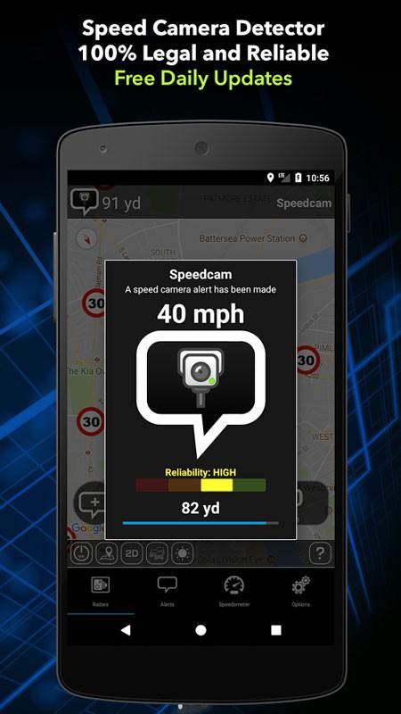 Speed Camera Detector Pro 6.51 نرم افزار هشدار دوربین کنترل سرعت
