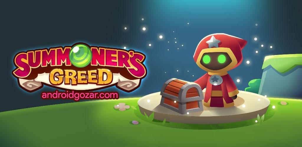 Summoner's Greed 1.15.0 دانلود بازی طمع جادوگر اندروید + مود