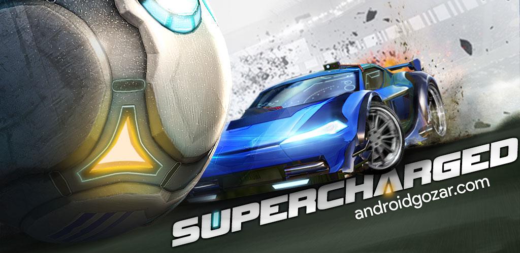 Supercharged 1.1.8085 دانلود بازی فوتبال ماشین ها اندروید + مود + دیتا