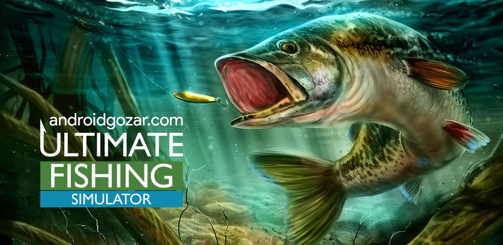 Ultimate Fishing Simulator 2.1 دانلود بازی شبیه ساز ماهیگیری اندروید + مود