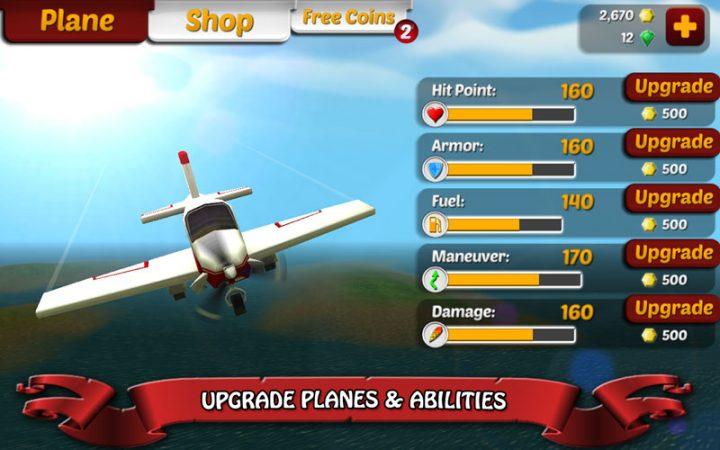 Wings on Fire – Endless Flight 1.35 دانلود بازی بال ها در آتش اندروید + مود