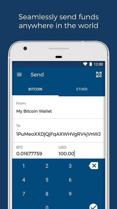 دانلود Blockchain Wallet 7.3.2 برنامه کیف پول ارز دیجیتال بلاک چین