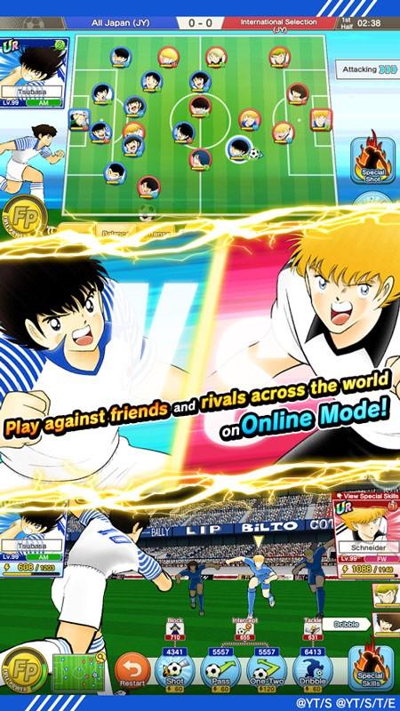 دانلود Captain Tsubasa: Dream Team 3.4.1 بازی کاپیتان سوباسا اندروید + مود