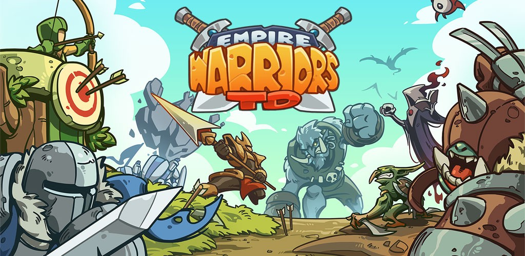 دانلود Empire Warriors: Defense Battle TD 2.2.0 بازی برج دفاعی اندروید + مود