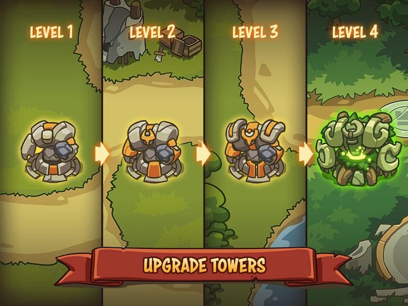 دانلود Empire Warriors: Defense Battle TD 2.1.5 – بازی برج دفاعی اندروید + مود