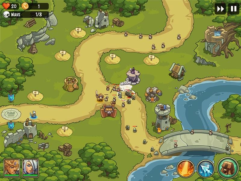 Empire Warriors TD: Defense Battle 0.7.9 بازی برج دفاعی اندروید + مود