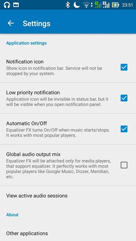 Equalizer FX Pro 3.3.2 دانلود نرم افزار افزایش صدای گوشی اندروید