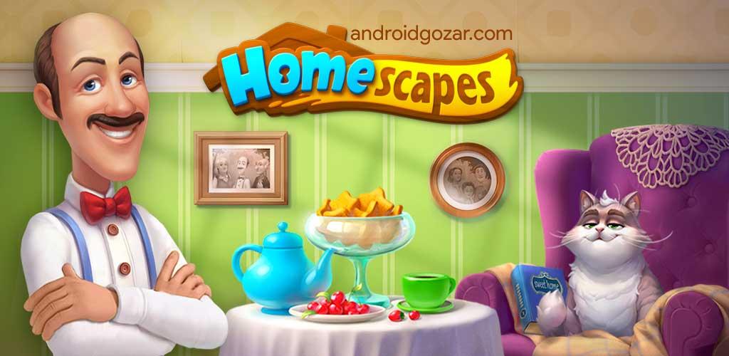 دانلود Homescapes 4.9.1 – بازی پیشخدمت عمارت اندروید + مود