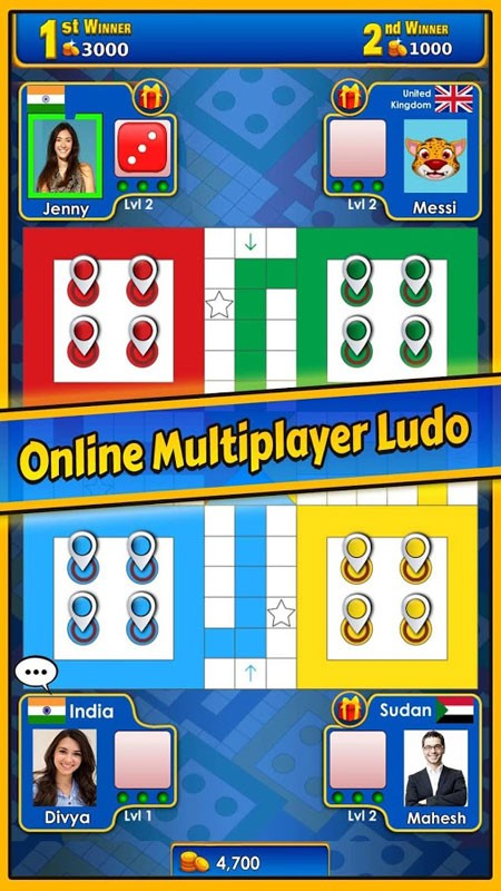 Ludo King 4.5.0.104 دانلود بازی تخته ای لودو کینگ اندروید