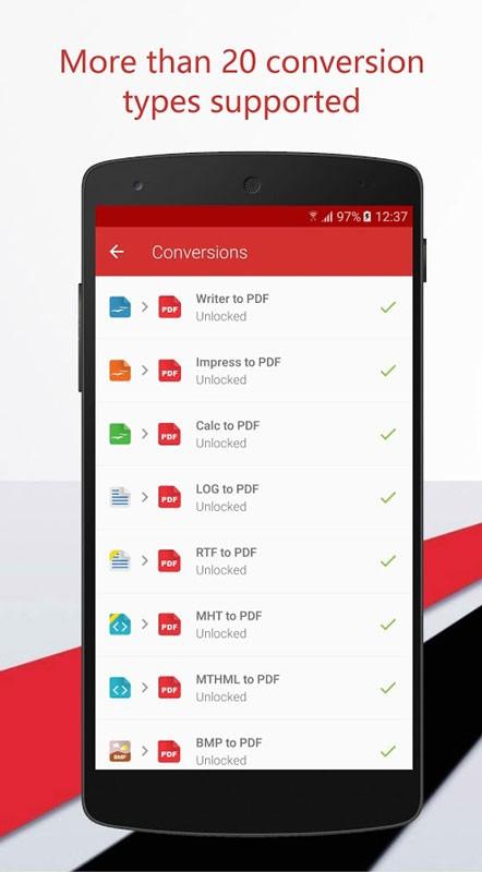 PDF Converter Ultimate 3.0.26 دانلود نرم افزار تبدیل فرمت PDF اندروید