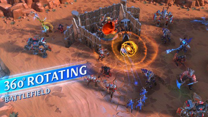 Quantum Siege 2.1.1 دانلود بازی محاصره کوانتومی اندروید + دیتا