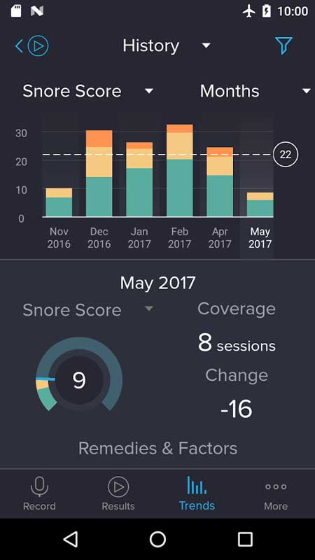 دانلود SnoreLab Premium 2.4.10 برنامه درمان خروپف اندروید