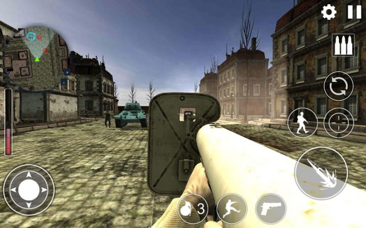 World War 2 : WW2 Secret Agent FPS 1.0.13 دانلود بازی مامور مخفی جنگ جهانی دوم اندروید + مود