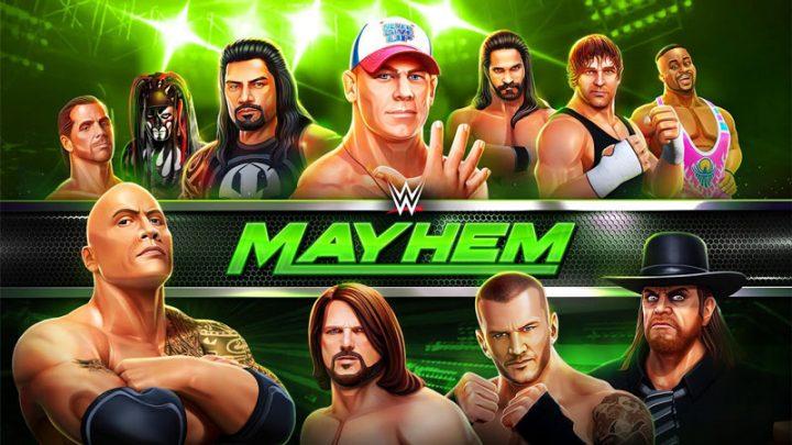 دانلود WWE Mayhem 1.37.786 بازی کشتی کج اندروید + مود