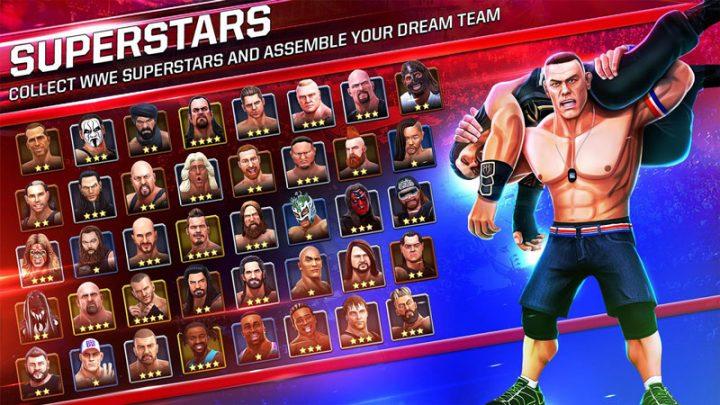 WWE Mayhem 1.19.283 دانلود بازی کشتی کج اندروید