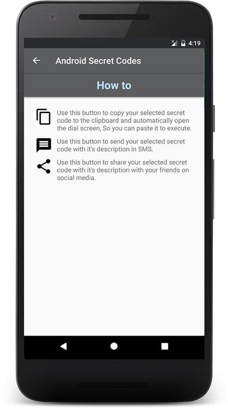 Android Secret Codes Pro 3.2.8 دانلود نرم افزار کدهای مخفی اندروید