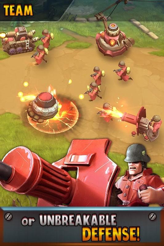 Battle Boom 1.1.5 دانلود بازی استراتژی توسعه نبرد اندروید + دیتا