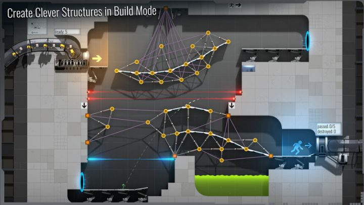 Bridge Constructor Portal 3.0 دانلود بازی پل سازی اندروید + مود