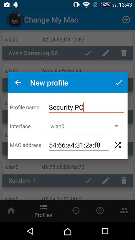 Change My MAC – Spoof Wifi MAC Pro 1.8.1 – تغییر مک آدرس اندروید
