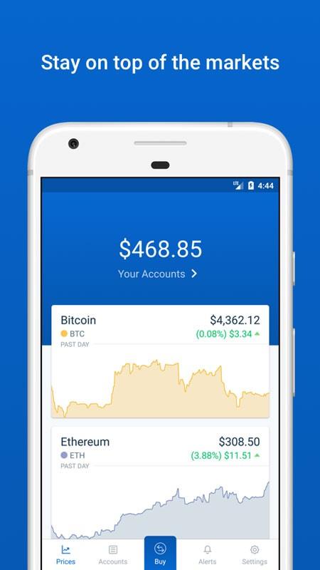 Coinbase 5.0.10 دانلود برنامه خرید و فروش و کیف پول ارز های دیجیتال