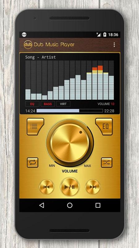Dub Music Player + Equalizer FULL 2.7 دانلود نرم افزار موزیک پلیر اندروید