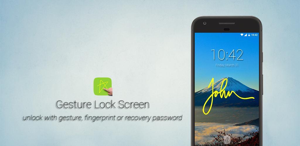 Gesture Lock Screen PRO 2.4.7 دانلود لاک اسکرین حرکتی اندروید