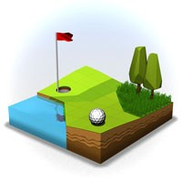 OK Golf 2.1.5 دانلود بازی جذاب گلف اندروید + مود