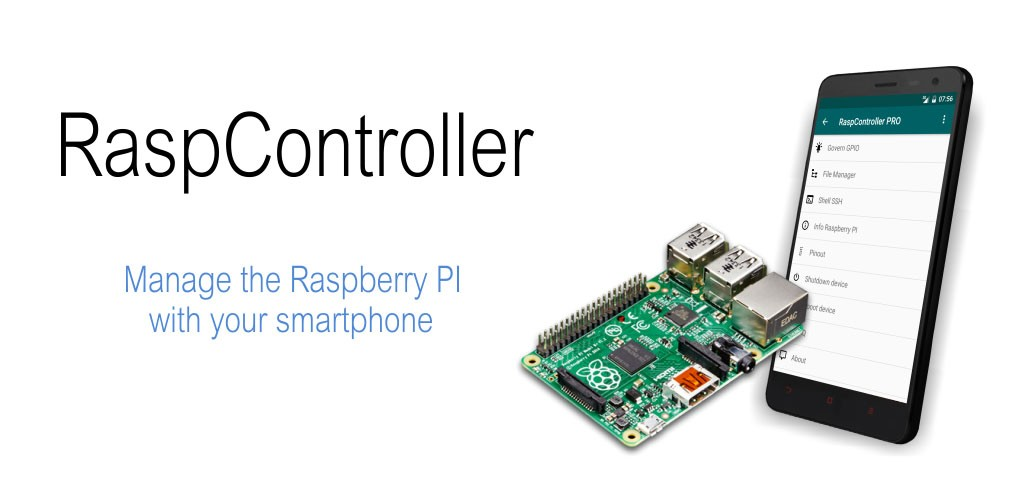 RaspController Pro 3.2.3 دانلود نرم افزار مدیریت رزبری پای با اندروید